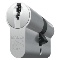 Mauer profielcilinder, DT1 serie, dubbele cilinder