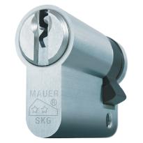Mauer profielcilinder, standaard serie, halve cilinder