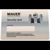 Mauer vervangend certificaat