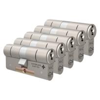 M&C Matrix antikerntrek dubbele veiligheidscilinder gelijksluitend per 5