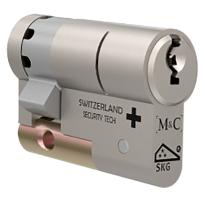 M&C Matrix antikerntrek halve veiligheidscilinder