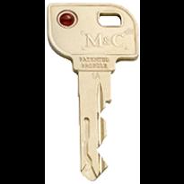 M&C Matrix sleutel metaal