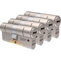 M&C Color+ antikerntrek dubbele veiligheidscilinder gelijksluitend per 4