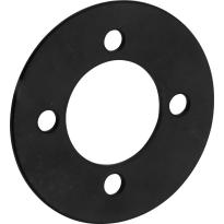Mi Satori Smetplaat tbv SKG cilinderrozet voor oplegslot mat zwart