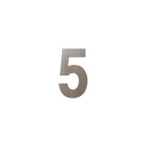 Mocca blend huisnummer 5, 150 mm