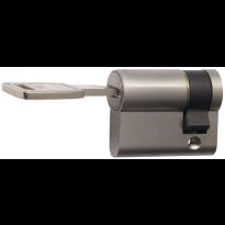 Nemef 141/9 profielcilinder NF4 serie halve cilinder