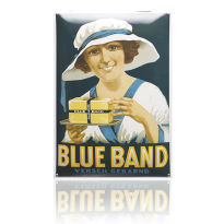 NG-01-BB emaille reclamebord 'Blue Band'