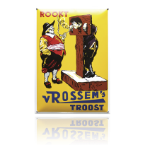 NG-36-RT emaille reclamebord 'Rossem'