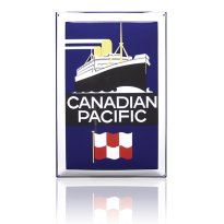 NG-60-CP emaille reclamebord 'Canadian'