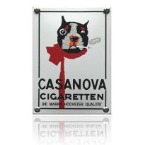 NK-10-CC emaille reclamebord 'Casanova'
