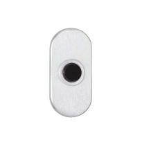 Ovale beldrukker curve 63x30 mm
