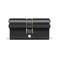 Profielcilinder DOM ix Twido SKG*** modulair, dubbele cilinder zwart