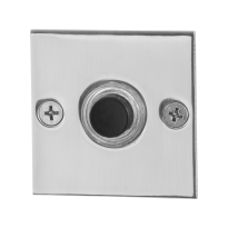 RVS deurbel GPF9826.48 vierkant 50x50x2 mm RVS gepolijst