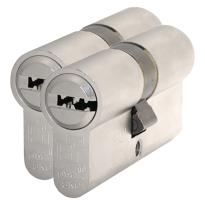 S2 antikerntrek veiligheidscilinders F6 gelijksluitend per 2, 45/50