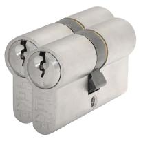 S2 antikerntrek veiligheidscilinders S6 gelijksluitend per 2, 30/30