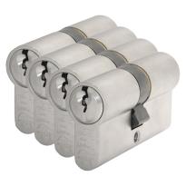 S2 antikerntrek veiligheidscilinders S6 gelijksluitend per 4, 30/30