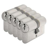 S2 antikerntrek veiligheidscilinders S6 gelijksluitend per 5, 30/30