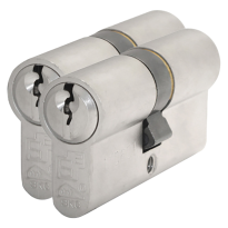 S2 antikerntrek veiligheidscilinders S6 gelijksluitend per 2, 30/45