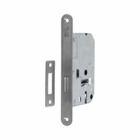 S2 binnendeur kastslot sleutelbediend SL55 DIN Ls/Rs, RVS geborsteld