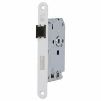 S2 binnendeur WC-slot 63/8 DIN Ls/Rs, wit gelakt