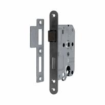S2 binnendeurslot PC55 D+N DIN Ls/Rs, RVS geborsteld