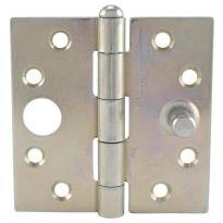 Veiligheids klepscharnier met rechte hoeken van Ivana 89x89 mm