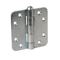 Scharnier ronde hoek Ivana zilver 89x89 mm