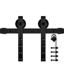 GPF0501.61 schuifdeursysteem Raskas zwart