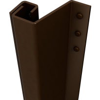 SecuStrip Plus buitendraaiend bruin, 2300mm, terugligging 21-27mm