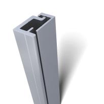 SecuStrip Style binnendraaiend aluminium, 2500mm, terugligging 0-0mm