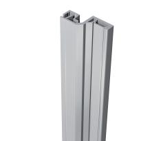 SecuStrip Style buitendraaiend aluminium, 2500mm