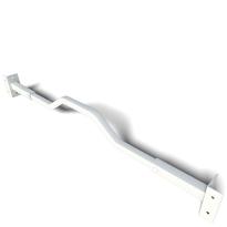 SecuBar Combi klapraam beveiliging wit, 680-870 mm