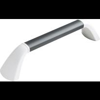 SecuCare Senior wandbeugel, zwart/grijs