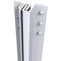 SecuStrip Basic buitendraaiend wit, 2115mm, terugligging 4-6mm