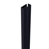SecuStrip Plus binnendraaiend antraciet, 2050mm, terugligging 0-0mm