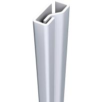 SecuStrip Plus binnendraaiend wit, 2050mm, terugligging 0-0mm