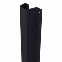 SecuStrip Plus buitendraaiende achterdeuren zwart, 2300mm