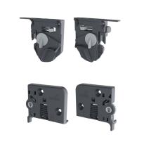 Set snappers en neigingsverstelling (Quadro 4D V6) voor houten schuifladen