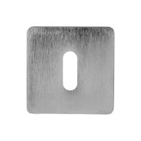 Sleutelrozet 6031/B 50x50x6mm mat chroom