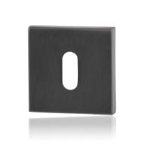 Sleutelrozet GPF0901.02P1 50x50x8mm PVD antraciet