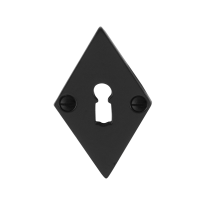 Sleutelrozet GPF6901.07 83x52x4mm smeedijzer zwart