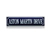 SS-06 emaille straatnaambord 'Aston martin drive'