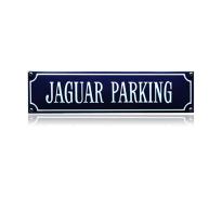SS-43 emaille straatnaambord 'Jaguar parking'
