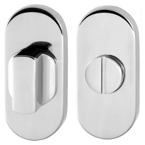 Toiletgarnituur GPF0903.44 70x32mm stift 8mm RVS gepolijst