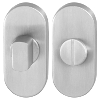 Toiletgarnituur GPF0904.04 70x32mm stift 5mm RVS geborsteld