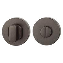 Toiletgarnituur GPF1100.A1.0910 50x8 mm stift 8 mm Dark blend grote knop