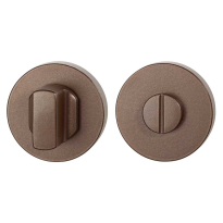 Toiletgarnituur GPF1100.A2.0910 50x8 mm stift 8 mm Bronze blend grote knop