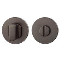 Toiletgarnituur GPF1105.A1.0910 50x6 mm stift 8 mm Dark blend grote knop