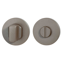 Toiletgarnituur GPF1105.A3.0910 50x6 mm stift 8 mm Mocca blend grote knop