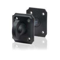 Toiletgarnituur GPF6911.02 59x48x6mm stift 5mm smeedijzer zwart